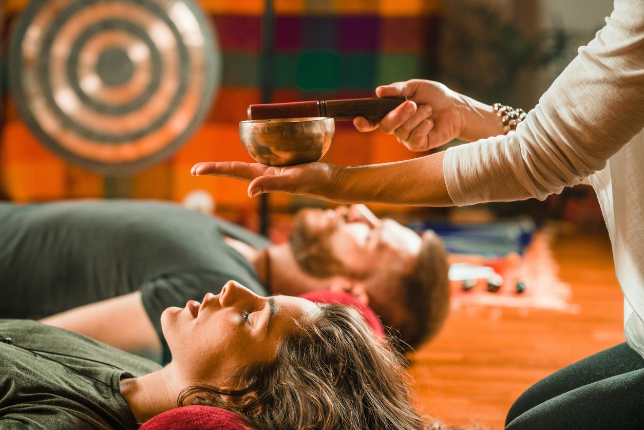 Le bain de gong : des étranges vibrations ... de bien être !
